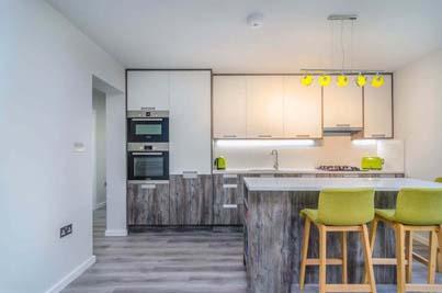 custom kitchen London